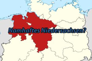 Namhaftes Niedersachsen